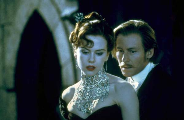 Nicole Kidman appears in a scene from the 2001 film 'Moulin Rouge.'