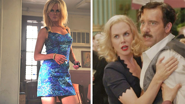 Nicole Kidman earned two 2013 Golden Globe nominations - one for Best Performance by an Actress In A Supporting Role in a Motion Picture for her role in the movie &#39;The Paperboy&#39; &#40;which also stars Zac Efron and Matthew McConaughey&#41; and one for Best Performance by an Actress in a Mini-Series or Motion Picture Made for Television for her part in the TV movie &#39;Hemingway and Gellhorn.&#39;  &#39;As an actor you look for roles that are rich, complicated, and that stretch you and this year I was blessed to find two,&#39; she said in a statement. &#39;To have the chance to play them was a gift in itself and to then be acknowledged this way is icing on the cake. Thank you to the Hollywood Foreign Press!&#39;  Kidman had also been nominated for an Emmy for her role in &#39;Hemingway and Gellhorn.&#39;  This is Kidman&#39;s ninth Golden Globe nomination. She has won three Golden Globes - one in 1996, for her role in the movie &#39;To Die For,&#39; one in 2002 for &#39;Moulin Rouge!&#39; and one in 2003 for &#39;The Hours.&#39; She won Oscars for the latter two films and was also nominated for an Academy Award and a Golden Globe for her role in the 2010 movie &#39;Rabbit Hole.&#39; &#40;Pictured: Nicole Kidman appears in a scene from the 2012 film &#39;The Paperboy.&#39; &#47; Nicole Kidman appears in a scene from the 2012 TV movie &#39;Hemingway and Gellhorn.&#39;&#41; <span class=meta>(Anne Marie Fox &#47; Millennium Entertainment &#47; Lee Daniels Entertainment &#47; Attaboy Films &#47; HBO &#47; For Whom Productions)</span>