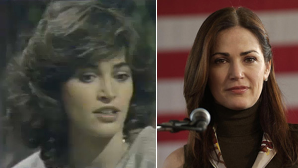 (Pictured: Kim Delaney appears on 'All My Children.' / Kim Delaney appears on 'Army Wives.')