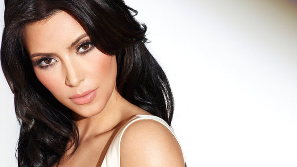 Kim Kardashian appears in a promotional photo...