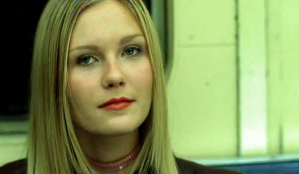 Kirsten Dunst appears in a scene from the 1999 music video 'I Knew I Loved You.'