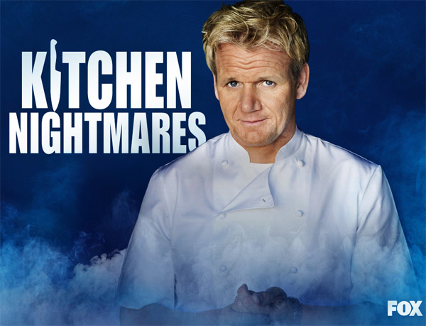 (Pictured: Gordon Ramsay appears in a scene from the FOX show 'Kitchen Nightmares.')