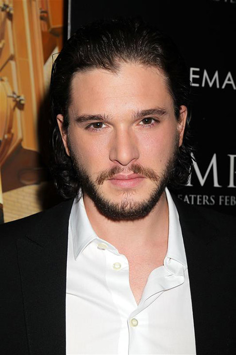 The &#39;Jon-Snow-Knows-Nothing-At-A-New-York-Screening-Of-&#39;Pompeii&#39; stare. &#40;&#39;Game of Thrones&#39; star Kit Harington appears at the event at the Corsby Street hotel in New York on Feb. 12, 2014.&#41; <span class=meta>(Dave Allocca &#47; Startraksphoto.com)</span>