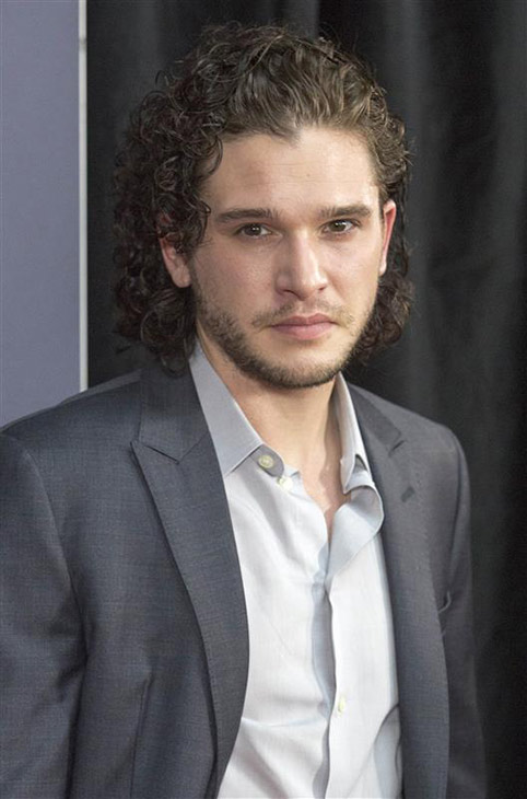 The &#39;Jon-Snow-Knows-Nothing-At-The-Australian-Premiere-Of-&#39;Pompeii&#39; stare. &#40;&#39;Game of Thrones&#39; star Kit Harington appears at the event in Sydney on March 6, 2014.&#41; <span class=meta>(ABACAUSA &#47; Startraksphoto.com)</span>