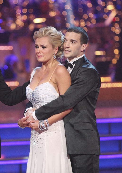 Classical singer Katherine Jenkins and her partner Mark Ballas received 29 out of 30 points from the judges for their Waltz on week three of 'Dancing With The Stars,' which aired on April 2, 2012.