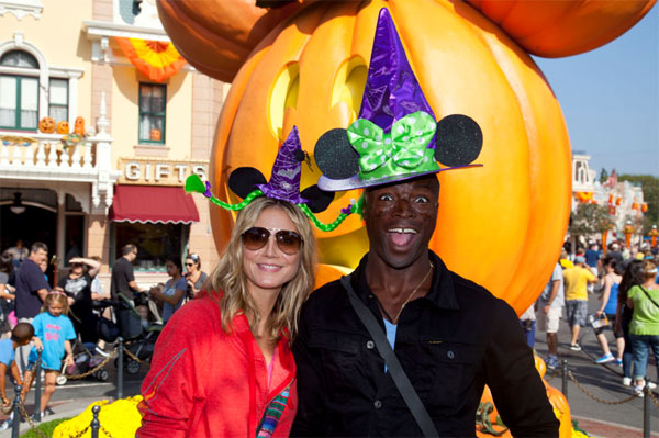 Heidi Klum and Seal announced on Jan. 22, 2012 they they would separate after being married for almost seven years. On April 6, Klum filed for divorce. Klum, 38, had the documents filed at a Los Angeles court. The German supermodel and &#39;Project Runway&#39; host is seeking joint legal custody and primary physical custody of their four children, with visitation rights for Seal. She and the British &#39;Kiss From A Rose&#39; singer shared three sons - Henry, Johan,and Lou, 2, and her older daughter Leni, whose father is her ex-boyfriend Flavio Briatore. The supermodel and Seal began a relationship in 2004, when she was still pregnant with her daughter and the singer later adopted the child.   Klum was also previously married to stylist Ric Pipino. They have no children together. After she married Seal, she took his last name - Samuel, and retained Klum for her stage name. In her divorce petition, she states that she wants her maiden name restored.  Klum and Seal had renewed their wedding vows every year prior to their split.   &#40;Pictured: Heidi Klum and Seal celebrate Halloween Time at Disneyland in Anaheim, California on Sept. 29, 2011. The annual Halloween Time celebration at the Disneyland Resort, which features special attractions and entertainment, continues through October 31, the Halloween holiday.&#41; <span class=meta>(Paul Hiffmeyer &#47; Disneyland)</span>