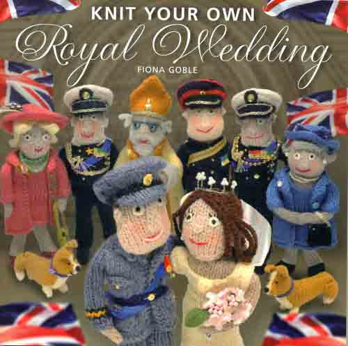 A kit to knit yourself a Royal Wedding going for $29.95 as of April 27, 2011.