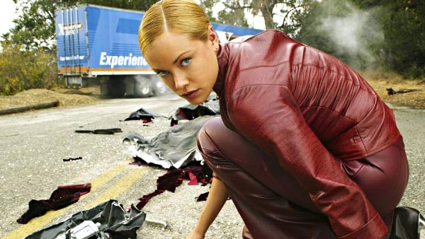 Kristanna Loken turns 33 on Dec. 19, 2012. The actress and model is known for her modeling career as well as for films such as &#39;Terminator 3: Rise of the Machines.&#39;Pictured: Kristanna Loken appears in a scene from the 2003 film &#39;Terminator 3: Rise of the Machines.&#39; <span class=meta>(C-2 Pictures &#47; Intermedia Films &#47; IMF Internationale Medien und Film GmbH &amp; Co. 3. Produktions KG)</span>