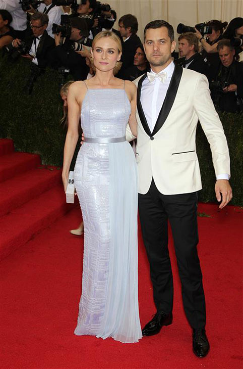 Diane Kruger and Joshua Jackson appear at the Metropolitan Museum of Art&#39;s 2014 Costume Institute Benefit gala, celebrating &#39;Charles James: Beyond Fashion,&#39; in New York on May 5, 2014. <span class=meta>(Marion Curtis &#47; Startraksphoto.com)</span>
