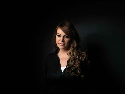 Singer Jenni Rivera poses for a portrait during...