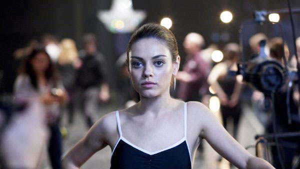 Actress Mila Kunis lost 20 pounds and rehearsed for four months, seven days a week, and five hours a day for her role opposite Natalie Portman in the 2010 film &#39;Black Swan.&#39;&#40;Pictured: Mila Kunis appears in a scene from the 2010 film &#39;Black Swan.&#39;&#41; <span class=meta>(Fox Searchlight Pictures)</span>