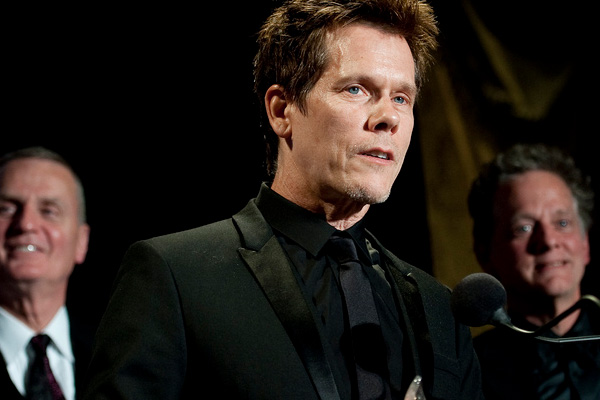 In 2011, Kyra Sedgwick learned from her appearance on the TV show &#39;Who Do You Think You Are?&#39; that she and husband Kevin Bacon are 10th cousins, once removed.Pictured: A photo of Sedgwick&#39;s husband of over 20 years, Kevin Bacon. <span class=meta>(flickr.com&#47;photos&#47;thejointstaff&#47;)</span>