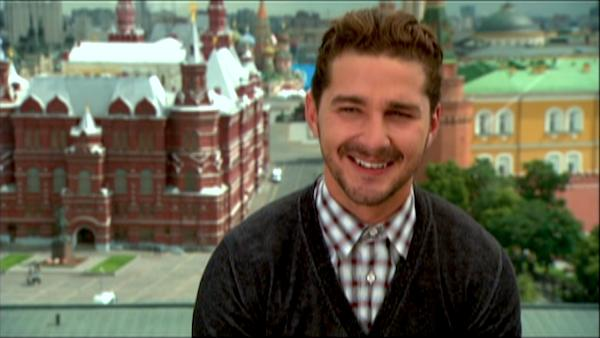 LaBeouf talks about his favorite moments of...
