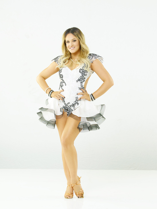 Lacey Schwimmer is back for her fourth season on...