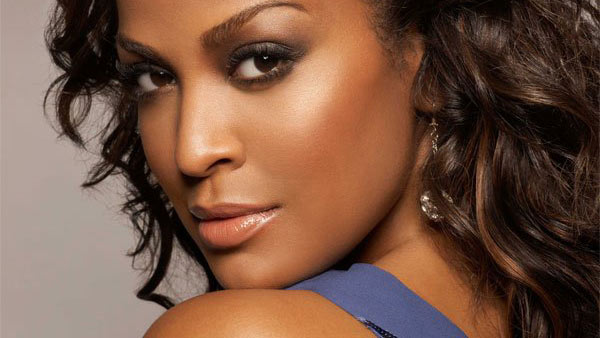 Laila Ali appears in an undated photo from her official Facebook page, Facebook.com/LailaAli.