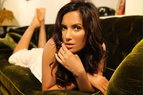 Padma Lakshmi in a promotional still from her personal Twitter account.