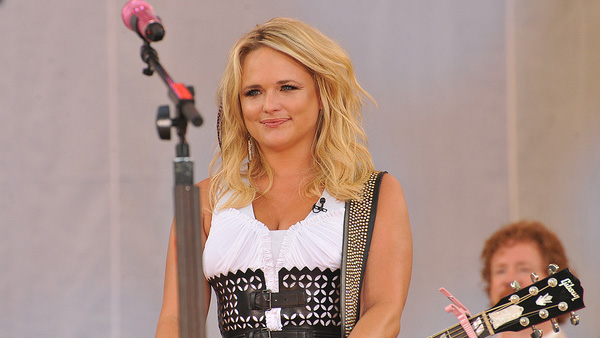 Miranda Lambert appears in a photo from the Good Morning America Summer Concert Series in July 2011.