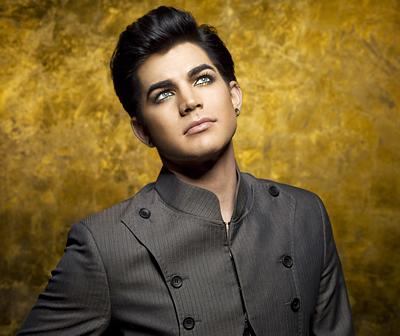 Promotional still of Adam Lambert from his personal website.
