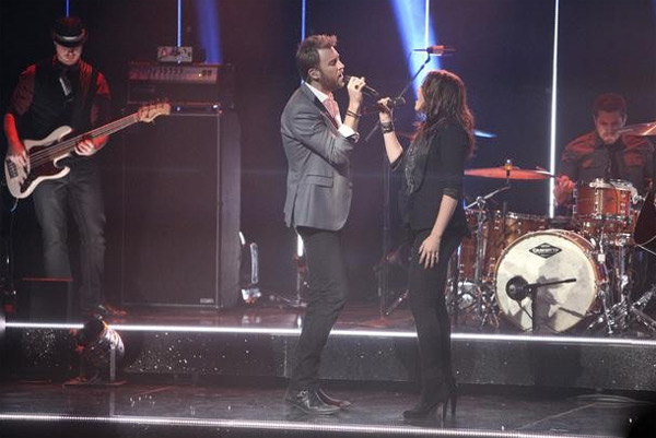 "<div class=""meta ""><span class=""caption-text "">Lady Antebellum had the final ballroom music performance for season 13 of 'Dancing With The Stars: The Results Show,' on Tuesday, November 22, 2011. The group had the television debut of their single 'Dancing Away with My Heart,' which is off their new album 'Own the Night.' The country music band was accompanied by Troupe members Sasha, Teddy, Kiki, Sharna, Dasha and Oksana on the dance floor. The group also performed their hit song 'Need You Now,' accompanied by 'Dancing With The Stars' pros Kym, Dmitry, Peta and Val.  (ABC / Adam Taylor)</span></div>"