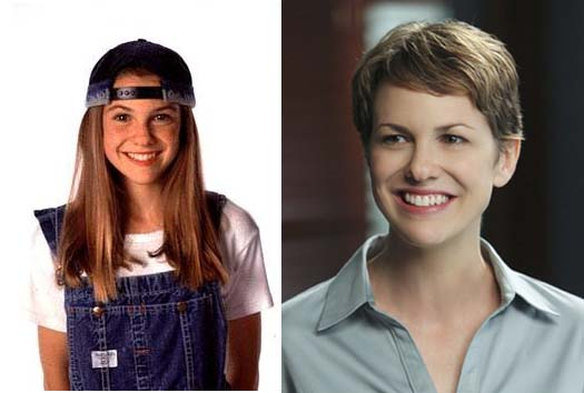 Larisa Oleynik appears in a promotional photo for 'The Secret World of Alex Mack.' / Larisa Oleynik appears in a scene from 'Hawaii Five-O.'