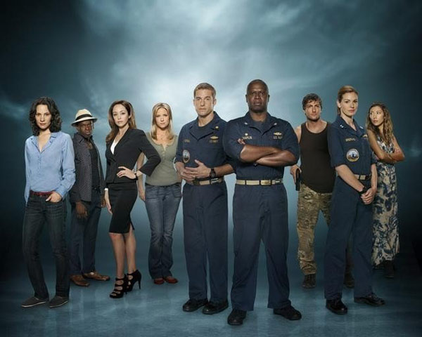 Still image of the cast from 'Last Resort.'