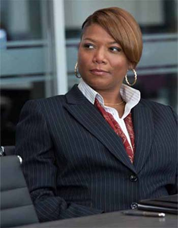 &#39;I made burgers, I made drinks,&#39; Queen Latifah told The Insider about working at Burger King. &#39;And I had to clean the bathrooms. I must have been crazy for cleaning that for minimum wage.&#39; <span class=meta>(Universal Pictures)</span>
