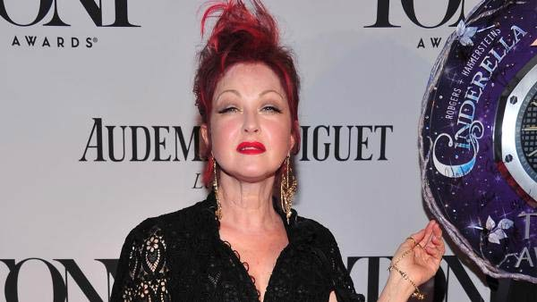 Cyndi Lauper appears at the 67th Annual Tony Awards on Sunday June 9, 2013, in New York.