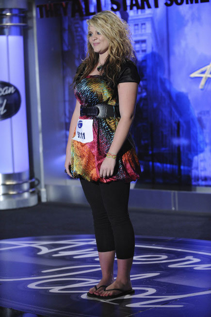 "<div class=""meta ""><span class=""caption-text "">Lauren Alaina, a 15-year-old from Rosville, GA, was made an 'American Idol' Top 24 finalist. (Pictured: Lauren Alaina performs in front of the judges on 'American Idol' on an episode that aired on Jan. 27, 2011.) (Michael Becker / FOX)</span></div>"