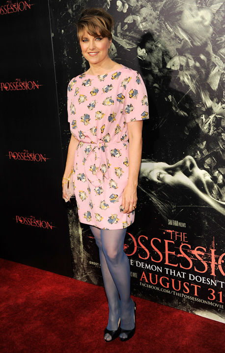 Lucy Lawless poses at the premiere of the film &#39;The Possession&#39; at Arclight Cinemas on Tuesday, Aug. 28, 2012, in Los Angeles. &#40;Photo by Chris Pizzello&#47;Invision&#47;AP&#41; <span class=meta>(Photo&#47;Chris Pizzello)</span>