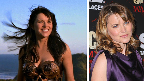 "<div class=""meta ""><span class=""caption-text "">Lucy Lawles kicked butt in leather as Xena through six seasons of 'Xena: Warrior Princess' ran from 1995 to 2001. After the show ended, Lawless went on to appear in shows such as 'The X-Files,' 'Two and a Half Men,' 'Veronica Mars,' and 'Battlestar Galactica.' In 2010, she began playing Lucretia on the R-rated Starz series 'Spartacus: Blood and Sand' and its spinoffs. In 2013, she played Diane Lewis on the NBC sitcom 'Parks and Recreation.'   Lawless married Garth Lawless in 1988 and divorced him in 1995. They have a daughter together. Lawless married 'Xena' producer Robert G. Tapert on March 28, 1998 and had two sons. Lawless, who is also a singer, lives with her family in New Zealand. She often performs at small concerts and makes appearances at fan events in the United States.  (Pictured: Lucy Lawless appears in the opening credits of 'Xena: Warrior Princess.'/ Lucy Lawless appears at the premiere for the finale of the Starz series 'Spartacus: War Of The Damned' in New York on Jan. 24, 2013.) (MCA Television / Anchor Bay Entertainment / Zack Turner / Startraksphoto.com)</span></div>"