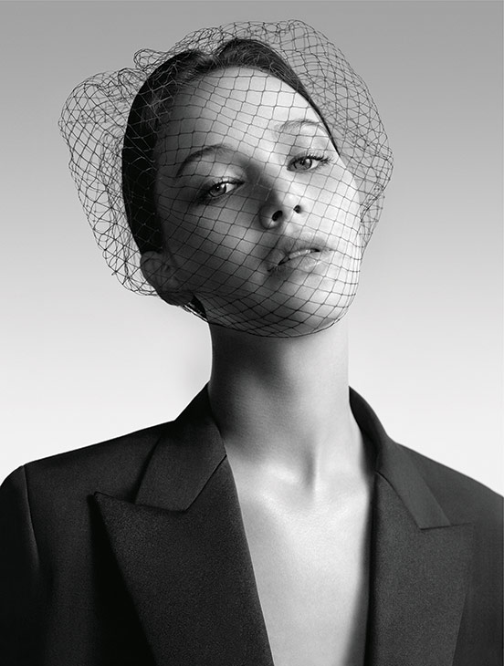 Jennifer Lawrence appears in a 2013 ad for Dior. <span class=meta>(Dior)</span>