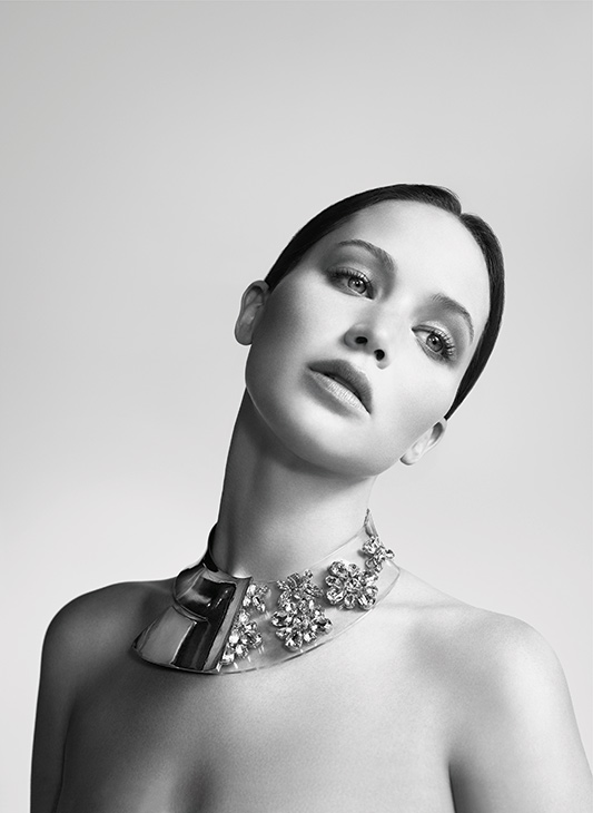 Jennifer Lawrence appears in a 2013 ad for Dior.
