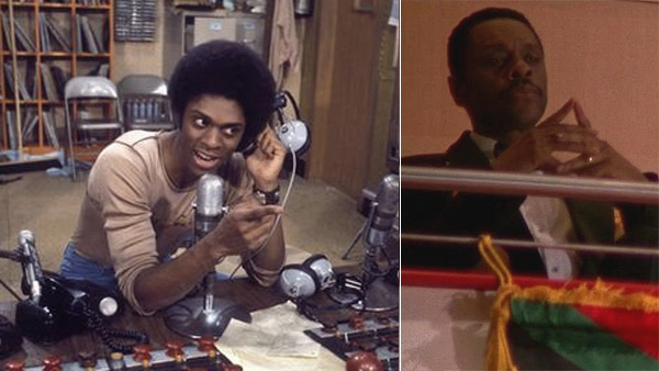 Lawrence Hilton-Jacobs appears in a scene from 'Welcome Back, Kotter,' which ran between 1975 and 1979. / Lawrence Hilton-Jacobs appears in a scene from 'Chuck.'