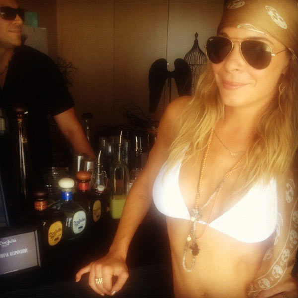 LeAnn Rimes appears in a photo posted to her...