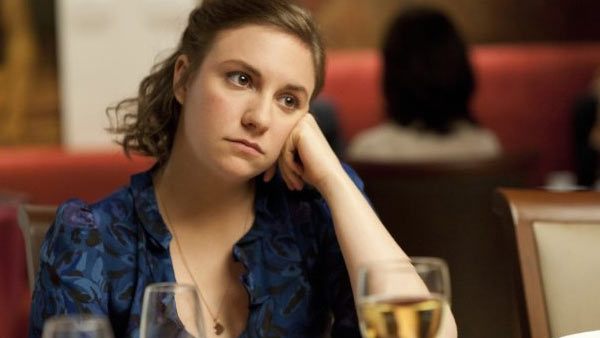 (Pictured: Lena Dunham appears in a scene from the show 'Girls.')