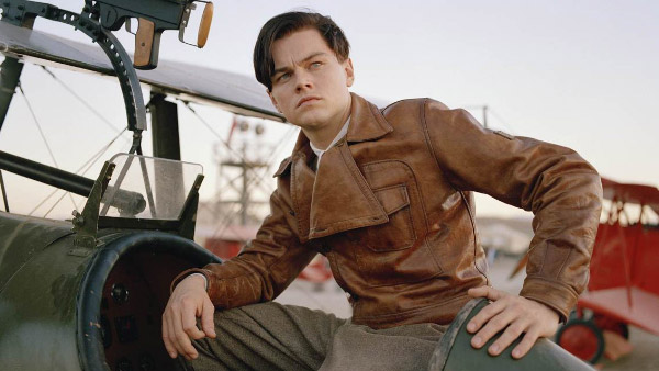 Leonardo DiCaprio appears in a scene from the film 'The Aviator.'