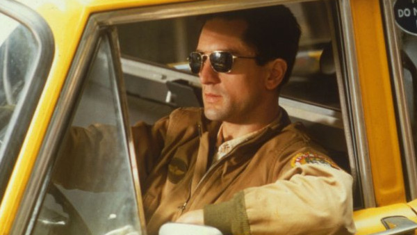 Robert De Niro appears in a scene from the 1976 film 'Taxi Driver.