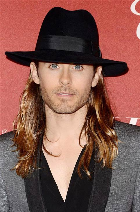 The &#39;Less-Scruffy-Cowboy&#39; stare: Jared Leto appears at the Hollywood Reporter&#39;s 2014 Oscar Nominees Night at Spago in Los Angeles on Feb. 10, 2014. The actor and Thirty Seconds To Mars frontman is nominated for his first Oscar for his role as transgender HIV-positive patient Rayon in &#39;Dallas Buyers Club.&#39; <span class=meta>(Lionel Hahn &#47; AbacaUSA &#47; Startraksphoto.com)</span>
