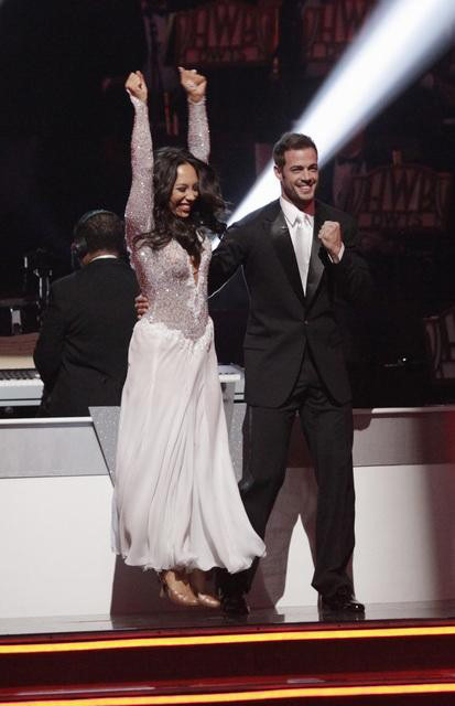 &#39;Dancing with the Stars: Ballroom Battle&#39; was also featured on &#39;Dancing With The Stars: The Results Show&#39; on Tuesday, May 1, 2012. The competition featured six pro dancers who paired together and held auditions for amateur couples throughout America. One couple was selected to represent each pro-dancer team in a head-to-head Ballroom Battle. Pictured: Cheryl Burke&#39;s team. <span class=meta>(ABC)</span>