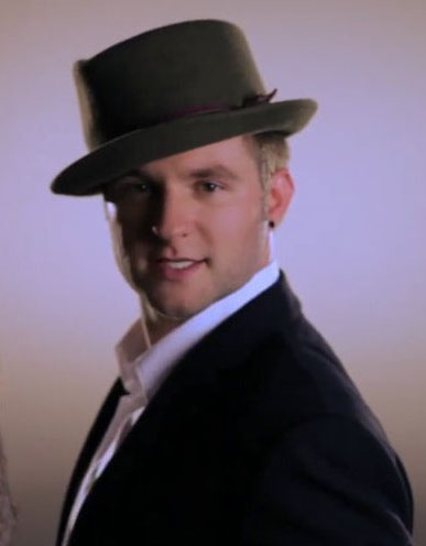 Promotional still of Blake Lewis from his...