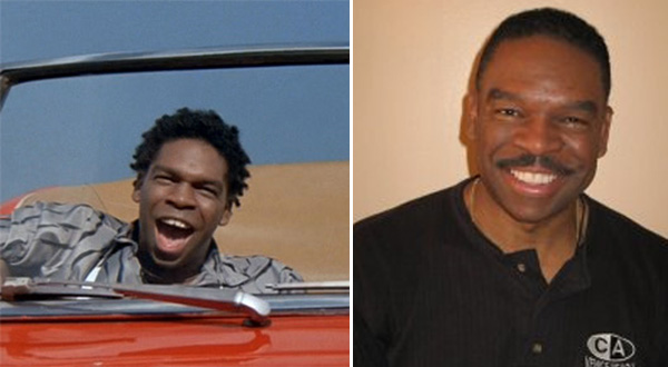 Larry Flash Jenkins appears in a scene from the 1986 movie 'Ferris Bueller's Day Off.' / Larry Flash Jenkins appears in a photo on his Facebook page