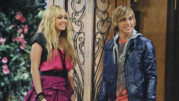 Cody Linley appears in a scene from the Disney show 'Hannah Montana.'