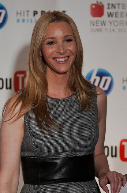 Lisa Kudrow appears in a photo from the 2010...