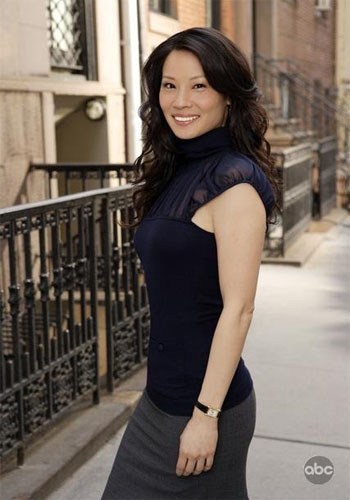 Lucy Liu in a promotional still for 'Cashmere Mafia.'