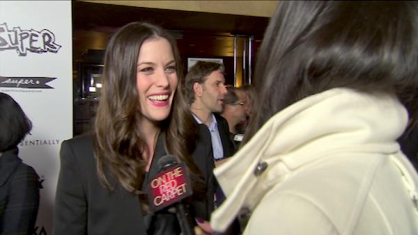 Liv Tyler turns 35 on July 1, 2012. The actress is known for movies such as &#39;Armageddon,&#39; &#39;Lord of The Rings: The Two Towers&#39; and &#39;The Incredible Hulk.&#39; &#40;Pictured: Liv Tyler opens up about why she signed on to &#39;Super&#39; and says she loved Rainn Wilson&#39;s superhero costume.&#39;&#41; <span class=meta>(OTRC)</span>