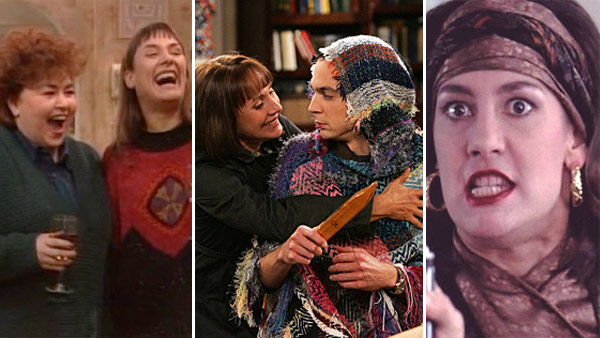Laurie Metcalf appears in scenes from 'Roseanne,' 'The Big Bang Theory' and 'Uncle Buck.'