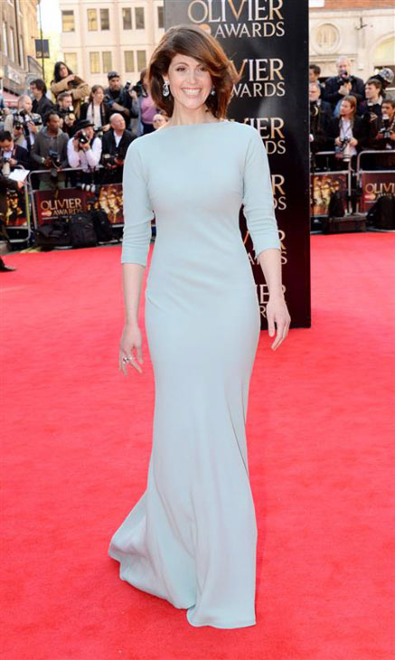 Gemma Arterton &#40;&#39;Prince of Persia: The Sands of Time,&#39; &#39;Quantum of Solace&#39;&#41; appears at the 2014 Laurence Olivier Awards in London on April 13, 2014. She co-hosted the ceremony with Stephen Mangan. <span class=meta>(Richard Young &#47; Rex &#47; Startraksphoto.com)</span>