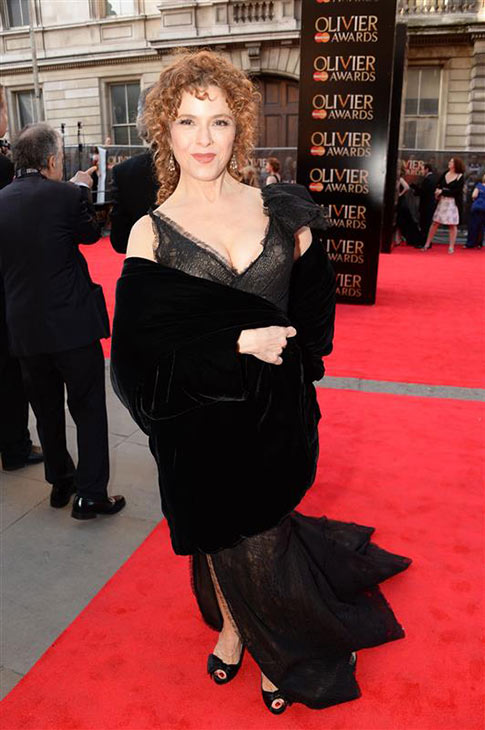 Legendary theatre actress Bernadette Peters appears at the 2014 Laurence Olivier Awards in London on April 13, 2014. <span class=meta>(Richard Young &#47; Rex &#47; Startraksphoto.com)</span>