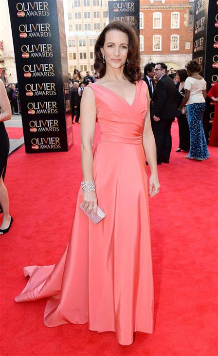 Kristin Davis &#40;Charlotte in &#39;Sex and the City&#39;&#41; appears at the 2014 Laurence Olivier Awards in London on April 13, 2014. <span class=meta>(Richard Young &#47; Rex &#47; Startraksphoto.com)</span>
