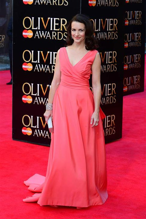 Kristin Davis &#40;Charlotte in &#39;Sex and the City&#39;&#41; appears at the 2014 Laurence Olivier Awards in London on April 13, 2014. <span class=meta>(Nils Jorgensen &#47; Startraksphoto.com)</span>